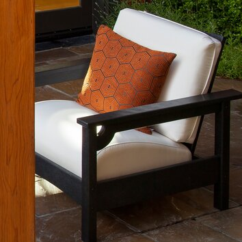 Polywood Club Deep Seating Chair Reviews Wayfair