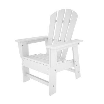 Polywood Kid 39 S Adirondack Arm Chair Reviews Wayfair