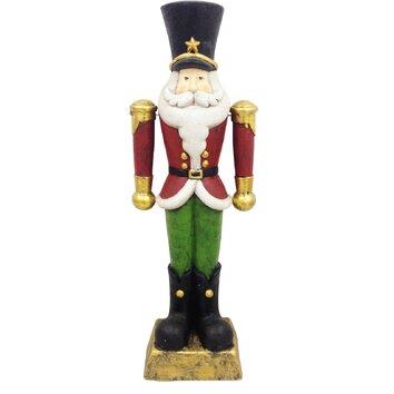 Alpine Christmas Tall Nutcracker Statue Amp Reviews Wayfair
