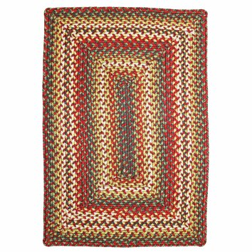 Homespice Decor Sunrose Red Indoor Outdoor Rug Amp Reviews