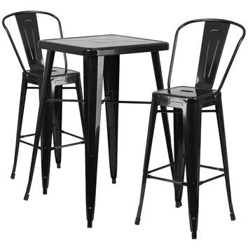 Wildon Home ® Fullmer 3 Piece Bar Table Set