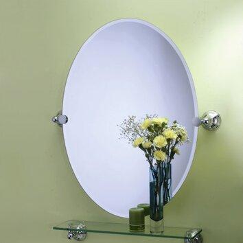 Gatco Charlotte Oval Wall Mirror Amp Reviews Wayfair