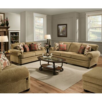Simmons upholstery thunder living room collection - Cojines para sofas de piel ...