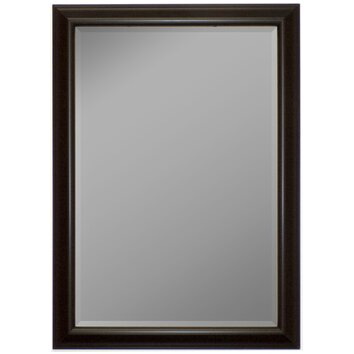 grey wood cabinets second look mirrors glossy silver smoked black wall mirror 16118