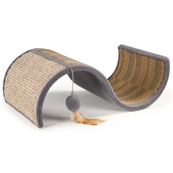 Petlinks system dream curl sisal scratching board for Chaise lounge cat scratcher