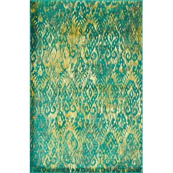 Loloi Rugs Madeline Green Yellow Area Rug Amp Reviews Wayfair