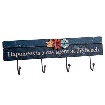 Wilco Home Happiness 4 Wall Hooks Amp Reviews Wayfair