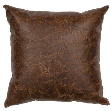 Wooded River Appalachian Leather Throw Pillow Wayfair