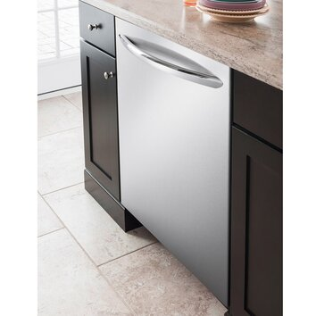 Frigidaire 25 49 dba built in dishwasher in stainless for Frigidaire armoire