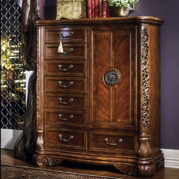 Michael Amini Excelsior 8 Drawer Gentleman S Chest