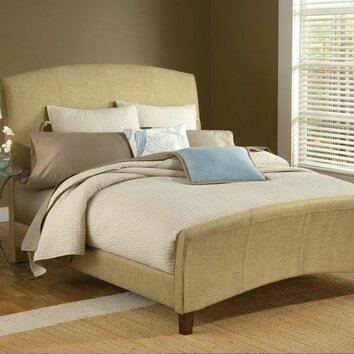 Hillsdale Edgerton Upholstered Sleigh Bed Amp Reviews Wayfair