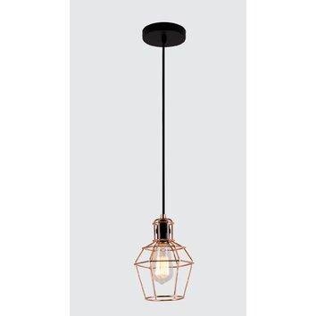 Bazz vesta 1 light mini pendant reviews wayfair for Wayfair industrial lamp