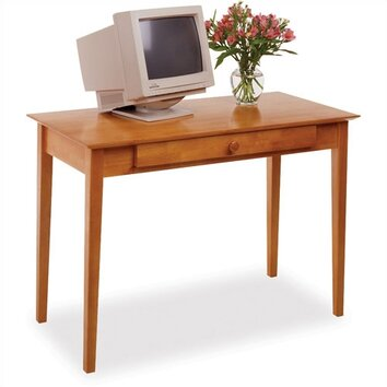 42 Desk winsome studio computer desk with keyboard tray & reviews | wayfair