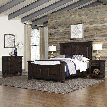 Home Styles Prairie Panel 4 Piece Bedroom Set Wayfair