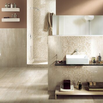 pictures of tiles in bathrooms samson travertini 12 quot x 24 quot porcelain field tile in beige 23988