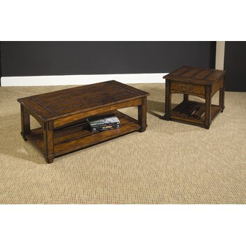 Hammary tacoma coffee table set reviews wayfair for Furniture upholstery tacoma