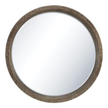 Osp designs rennes wall mirror wayfair for Images of couch for hall rennes