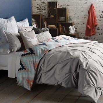 Blissliving Home Harper 3 Piece Reversible Duvet Cover Set
