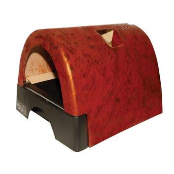 Kittyagogo Designer Cat Litter Box With Burl Wood Cover Wayfair