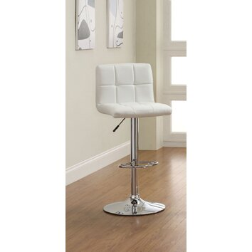 Hokku Designs Pure Adjustable Height Swivel Bar Stool