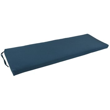 Blazing Needles 63 Solid Indoor Bench Cushion