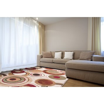 Zipcode Design Nolan Geometric Brown Tan Area Rug