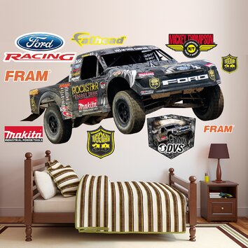 fathead action sports brian deegan ford raptor wall With kitchen cabinets lowes with ford raptor stickers