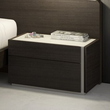 J Amp M Furniture Porto Nightstand Amp Reviews Allmodern
