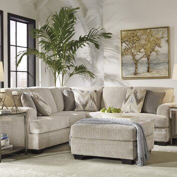 Benchcraft Ameer Sectional Amp Reviews Wayfair