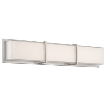 Modern forms bahn 3 light bath bar allmodern - Chapter 3 light bar bathroom light ...