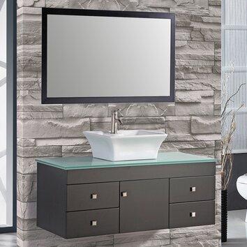 Mtdvanities nepal 48 single sink bathroom vanity set with for Kitchen set in nepal