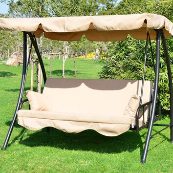 Homcom Outsunny Swing Seat Amp Reviews Wayfair Uk
