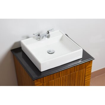 fancy kitchen sinks american imaginations above counter square vessel bathroom 3672