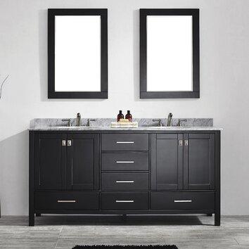 Vinnova Gela 72 Quot Double Vanity Set With Mirror Amp Reviews