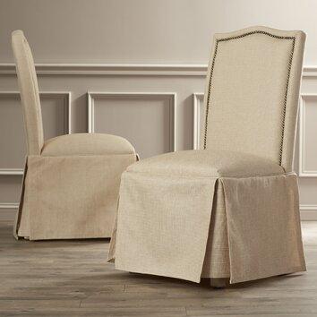 Alcott Hill Fredericksburg Skirted Parson Chair Amp Reviews