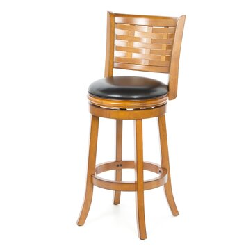 Alcott Hill Westerville 29 Quot Swivel Bar Stool With Cushion