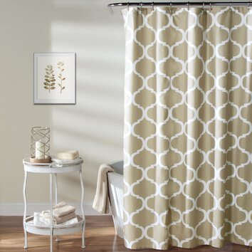 Alcott Hill Dauberville Shower Curtain Amp Reviews Wayfair