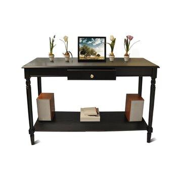Charlton Home Carlisle Console Table With Bottom Shelf