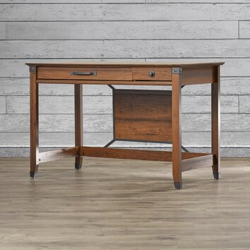 Loon Peak Newdale 2 Drawer Writing Desk Amp Reviews