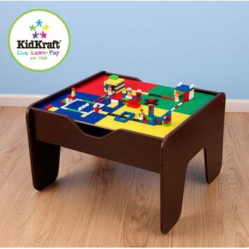 Kidkraft 231 Piece Activity 2 In 1 Kids Lego And Train