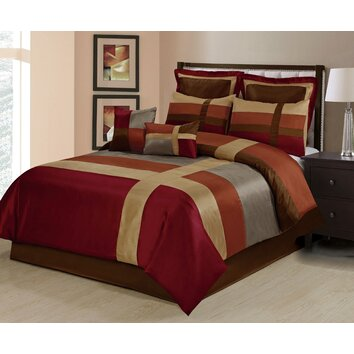 Homechoice International Group Louie 8 Piece Comforter Set