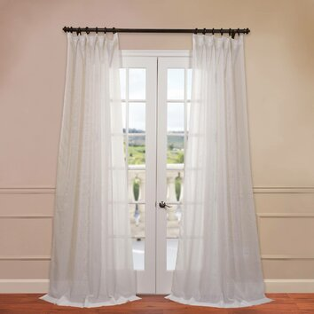 Sheer Curtains Panels - Rooms