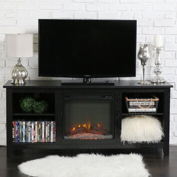 Latitude Run Mccall Tv Stand With Electric Fireplace