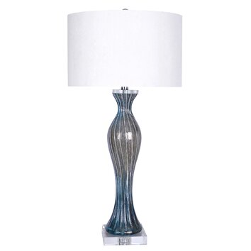 Grandview Gallery Art Glass 33 Quot Table Lamp Amp Reviews Wayfair