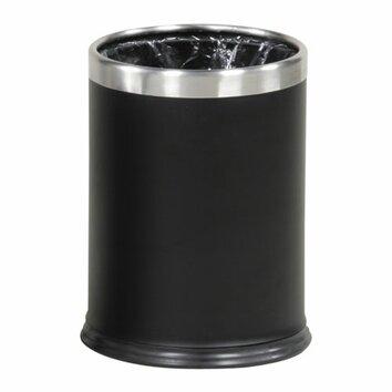 Rubbermaid Hide A Bag Wastebasket Black Amp Reviews Wayfair