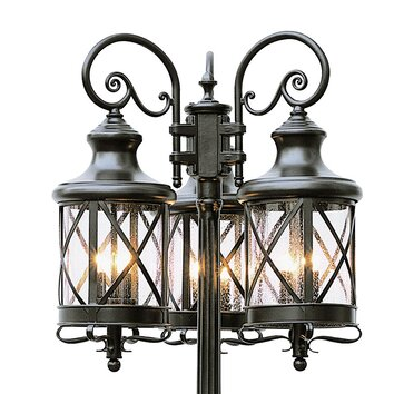 Transglobe Lighting 6 Light 81 Quot Post Light Amp Reviews Wayfair
