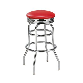 Regal new retro express 30 swivel bar stool reviews for Backless double ended chaise longue