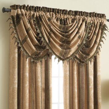 Croscill Marquis 24 Quot Curtain Valance Amp Reviews Wayfair