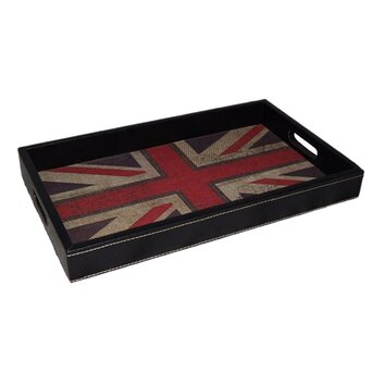Cheungs Union Jack Serving Tray Amp Reviews Wayfair