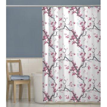 Maytex Cherrywood Shower Curtain Amp Reviews Wayfair